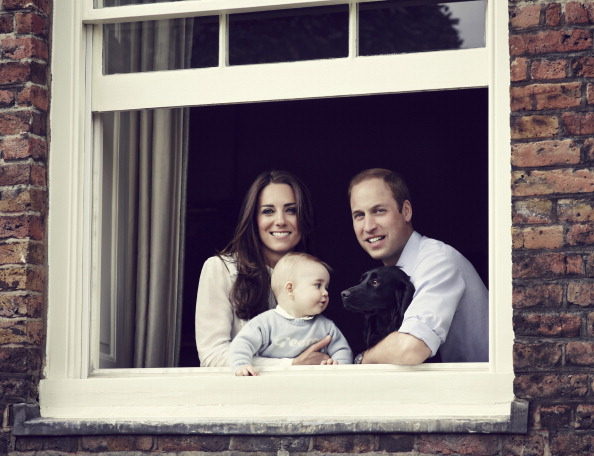 Will, Kate, George, and Lupo