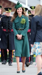 Duke and Duchess of Cambridge at StPatrick's Day Parade