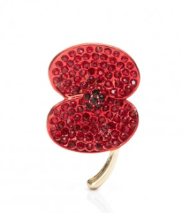 The Poppy Brooch that Catherine wore in 2012