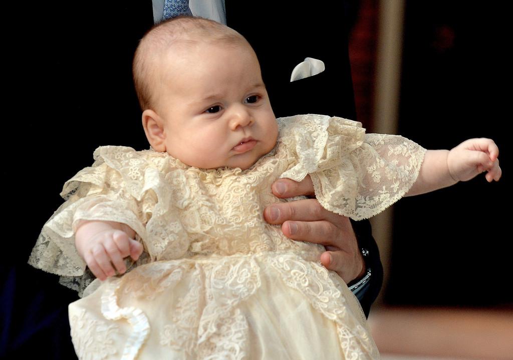 Prince George Christening