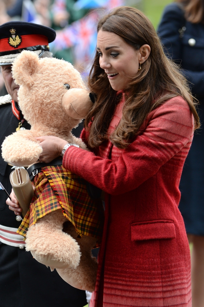 The Duke and Duchess of Cambridge visit Strathearn Community Campus
