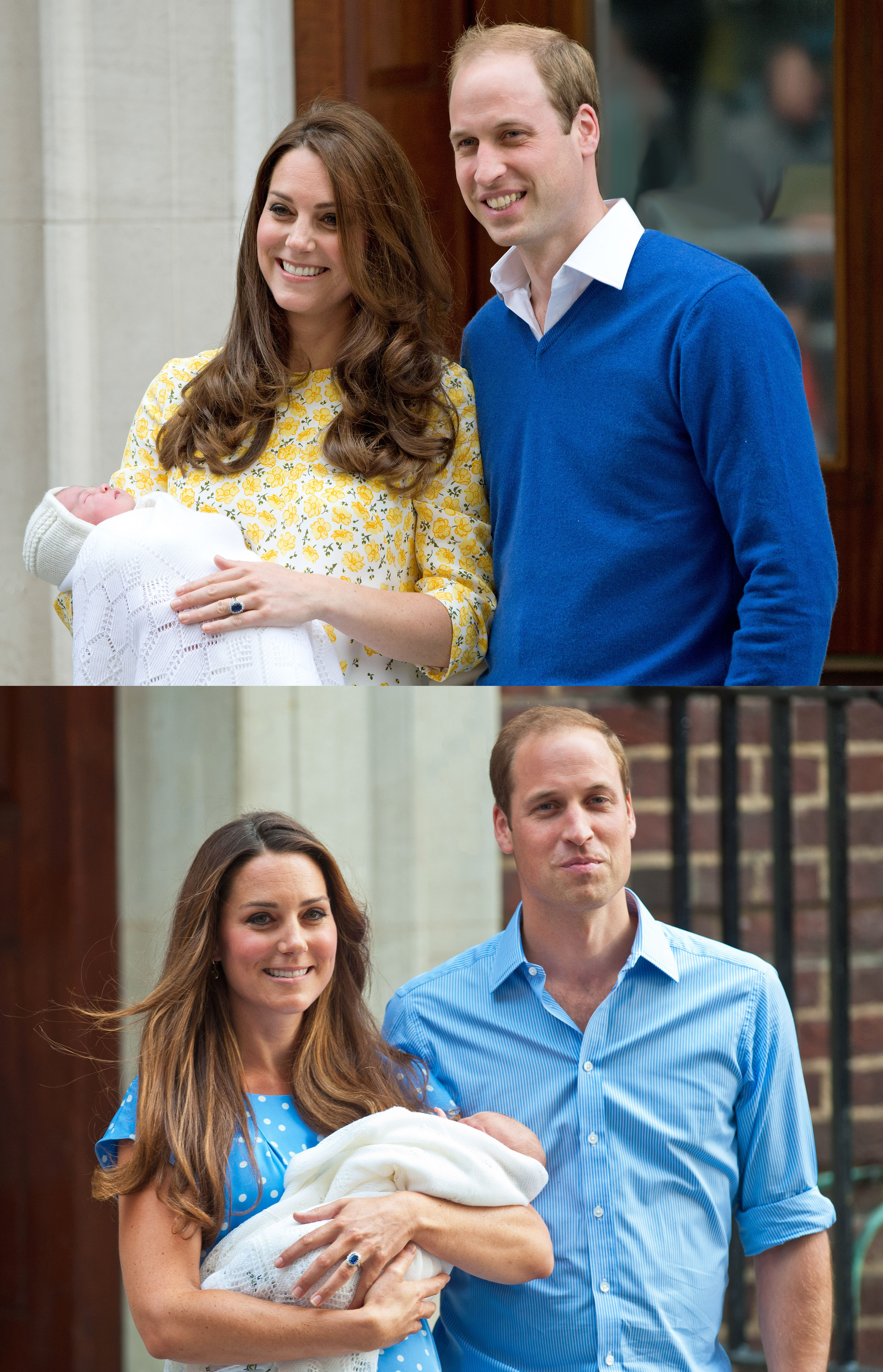 The Birth of The New Royal Baby in London