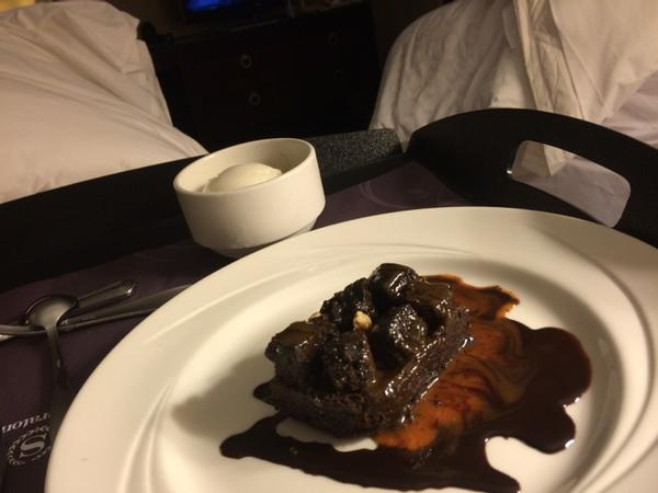 Sheraton''s Chocolate Caramel Brownie