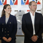 The Duke and Duchess of Cambridge visit the America's Cup team technical areas, meet the skippers and crew and attend the medal presentation for the America's Cup Portsmouth at the Royal Naval Base, Portsmouth, Hampshire, UK, on the 26th July 2015.  Picture by Luke MacGregor/WPA-Pool  Pictured: Duchess of Cambridge, Catherine, Kate Middleton, Duke of Cambridge, Prince William Ref: SPL1087725  260715   Picture by: Splash News  Splash News and Pictures Los Angeles:310-821-2666 New York:212-619-2666 London:870-934-2666 photodesk@splashnews.com