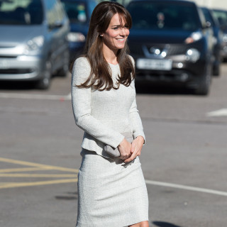25 Sep 2015, Woking, Surrey, England, UK --- The Duchess of Cambridge visits HMP Send Women's Prison to join an addiction charity working to help prisoners addicted to drugs and alcohol and view the work carried out by the Rehabilitation of Addicted Prisoners Trust (RAPT) in Woking, Surrey, UK, on the 25th September 2015. Picture by Andrew Matthews/WPA-Pool Pictured: Duchess of Cambridge, Catherine, Kate Middleton --- Image by © Splash News/Splash News/Corbis