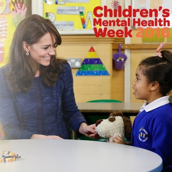 The Duchess of Cambridge launches #ChildrensMentalHealthWeek