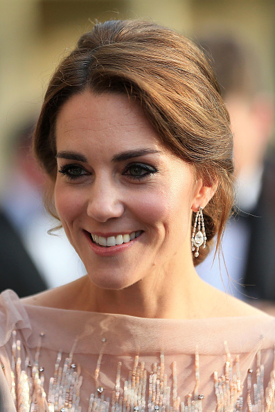 KING'S LYNN, ENGLAND - JUNE 22:  Catherine, Duchess of Cambridge attends a gala dinner in support of East Anglia's Children's Hospices' nook appeal at Houghton Hall on June 22, 2016 in King's Lynn, England. (Photo by Stephen Pond/Getty Images)