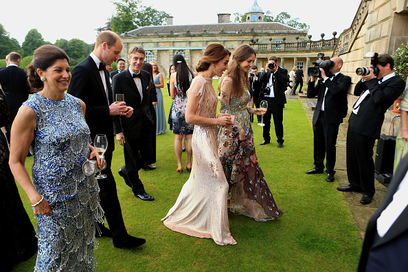 KING'S LYNN, ENGLAND - JUNE 22:  HRH Prince William and Catherine, Duchess of Cambridge attend a gala dinner in support of East Anglia's Children's Hospices' nook appeal at Houghton Hall on June 22, 2016 in King's Lynn, England. (Photo by Stephen Pond/Getty Images)