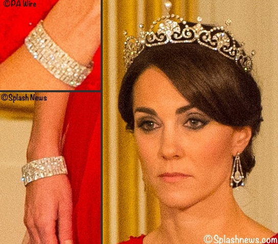 Kate-State-Dinner-Bracelet-Chandelier-Style-Queens-Diamond-Earrings-Montage-June-22-2016