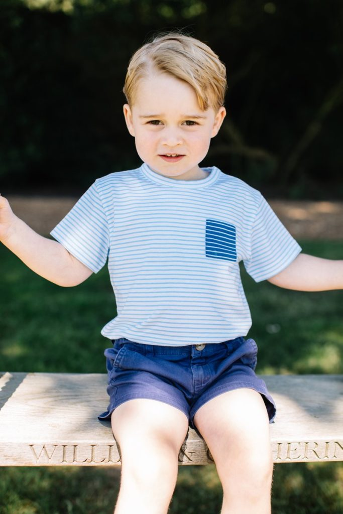 Official Portraits Released as Prince George Turns 3