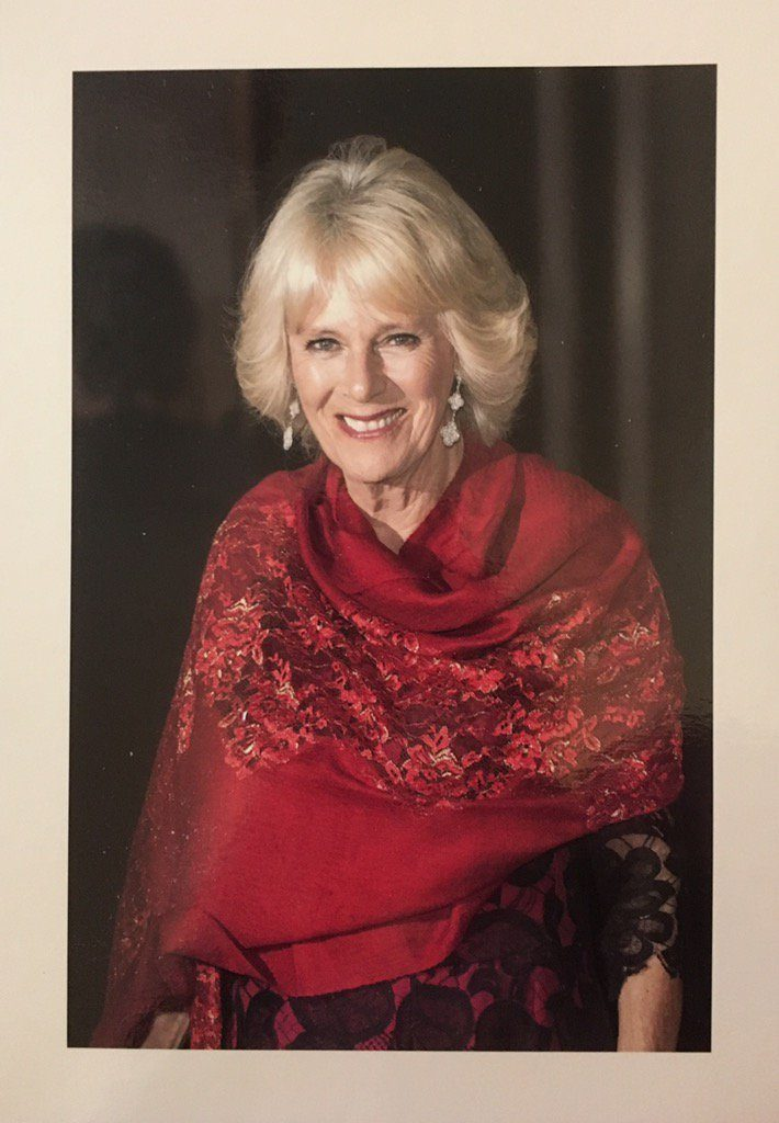 Beautiful Portrait Features on Duchess of Cornwall Birthday Reply