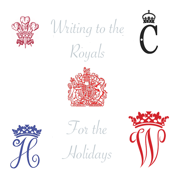Writing to Royalty for the Holidays