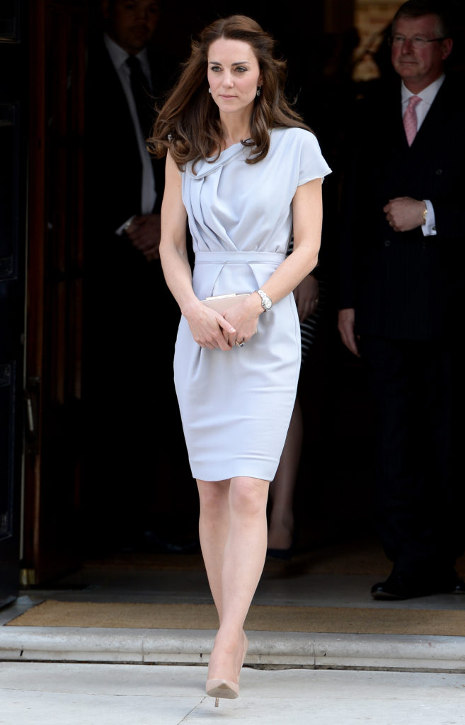 The Duchess of Cambridge attends a lunch in support of the Anna Freud Centre at Spencer House, London, UK, on the 14th April 2016. Pictured: Duchess of Cambridge, Catherine, Kate Middleton Ref: SPL1275579 040516 Picture by: James Whatling Splash News and Pictures Los Angeles: 310-821-2666 New York: 212-619-2666 London: 870-934-2666 photodesk@splashnews.com