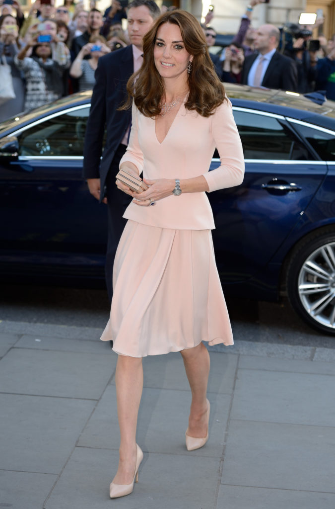 The Duchess of Cambridge visits the National Portrait Gallery to view the Vogue 100: A Century of Style exhibition, in London, UK, on the 4th May 2016. Pictured: Duchess of Cambridge, Catherine, Kate Middleton Ref: SPL1275759 040516 Picture by: James Whatling Splash News and Pictures Los Angeles: 310-821-2666 New York: 212-619-2666 London: 870-934-2666 photodesk@splashnews.com
