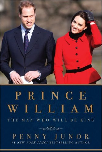 Royal Reading Challenge book Review:  Prince William: The Man Who Will Be King by Penny Junor
