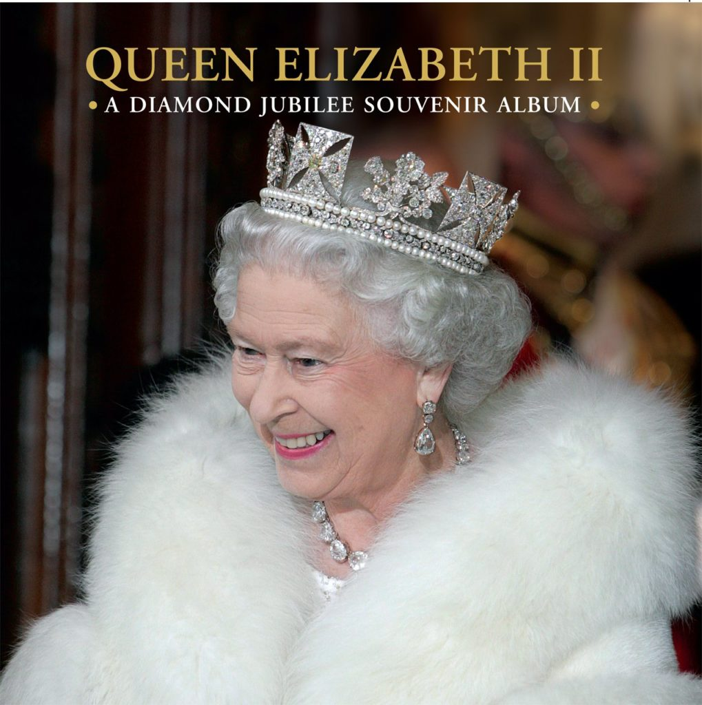 Royal Reading Challenge Book Review: Queen Elizabeth II: A Diamond Jubilee Souvenir Album  by Jane Roberts