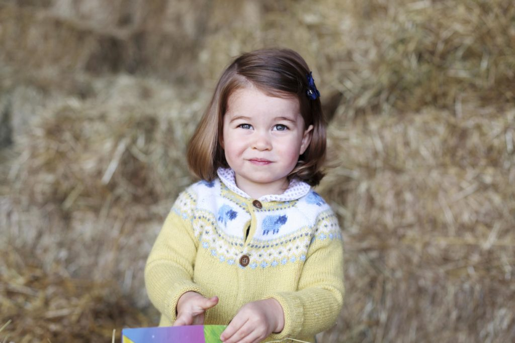 A New Photo of Princess Charlotte Released to Mark 2nd Birthday