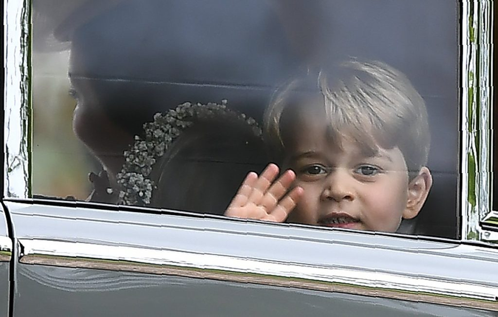 George and Charlotte Bring the Cute to the Wedding Party on Aunt Pippa's Big Day
