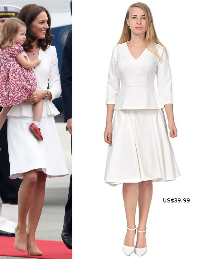 A Great Replikate for Kate's Warsaw arrival for just $40