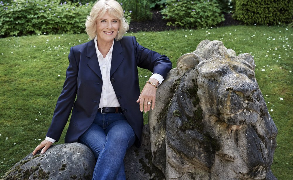 A Second Portrait Released for Duchess of Cornwall's 70th Birthday