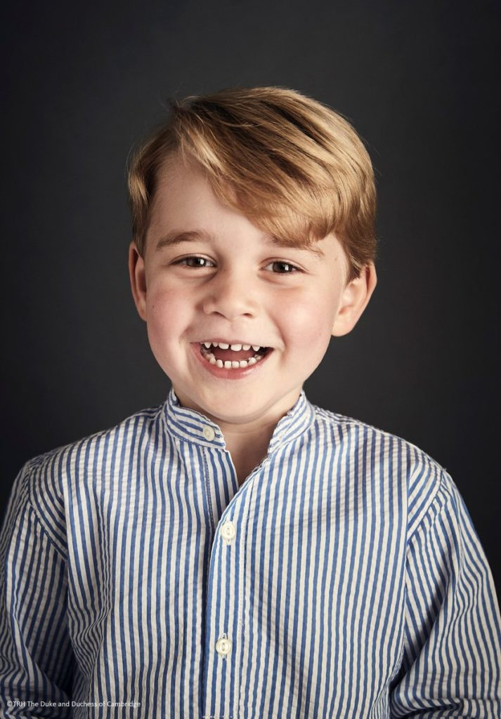 Kensington Palace Marks 4th Birthday of Prince George with New Portrait