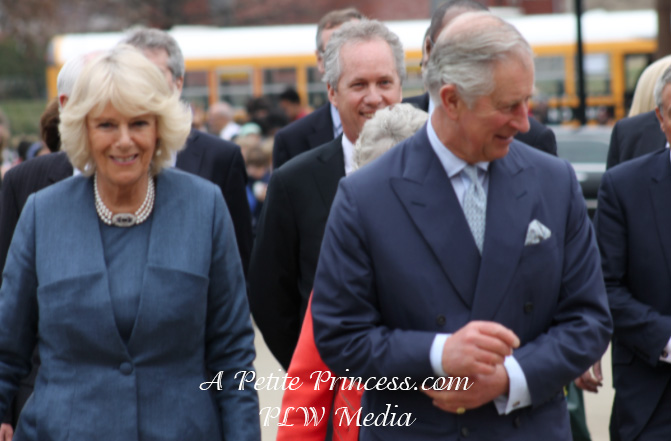 The Prince of Wales and Duchess of Cornwall Visit Louisville, Kentucky