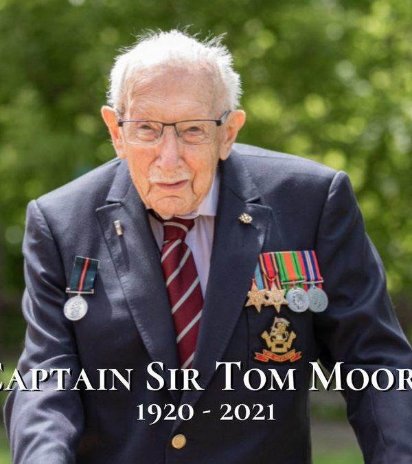 Farewell, Captain Tom!