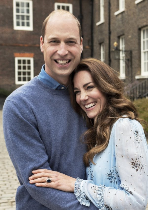 Will and Kate Share Snuggled up Snaps to Mark 10th Anniversary