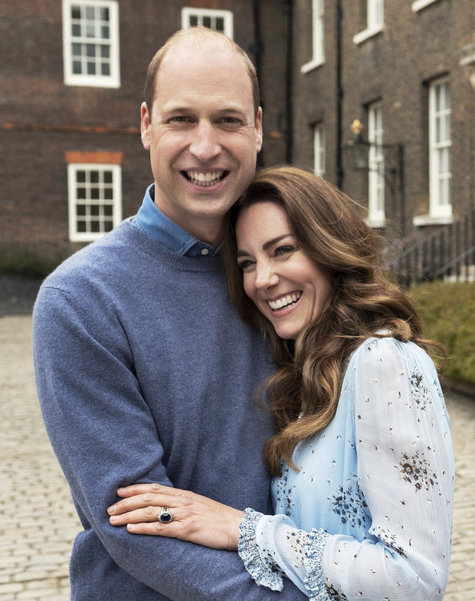 Will and Kate 10th Anniversary Portrait