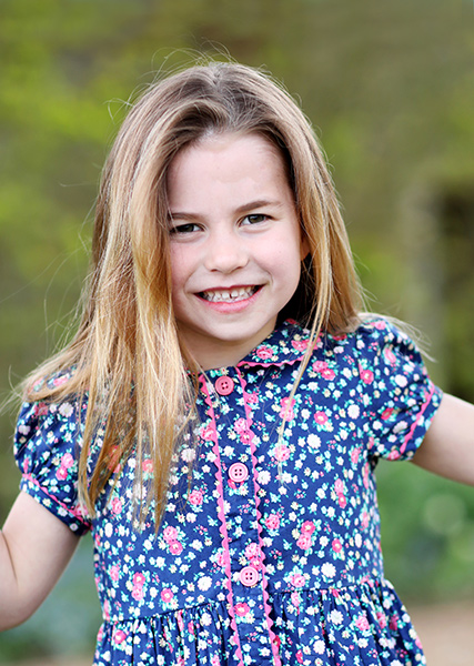 Princess Charlotte sixth birthday